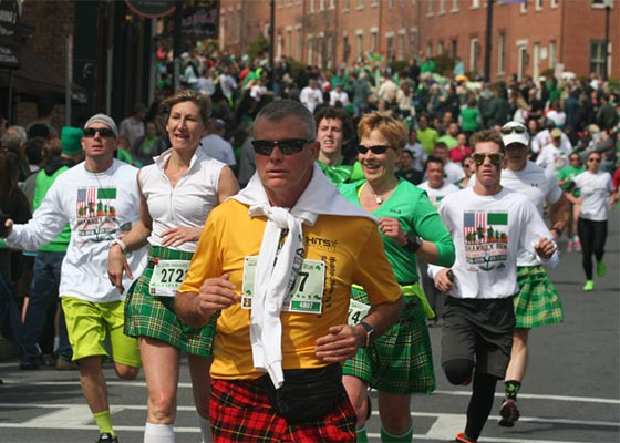 Shamrock Run Kingston NY